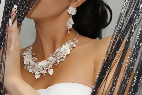 Necklace For Bride On Wedding Day
