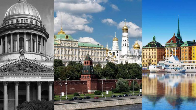 What all places to visit as a part of the st Petersburg private tours?