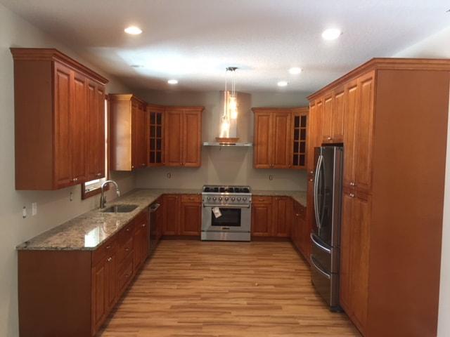 Kitchen area cabinet