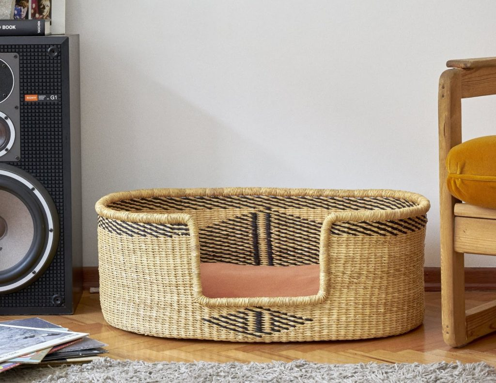 Woven Dog Bed